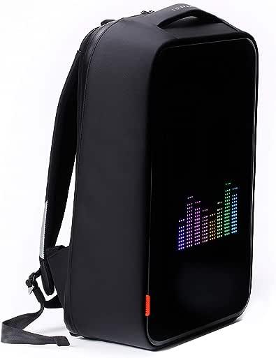 (ベヌキ) VENUKI Diamond Black LEDスマートライディング盗難防止ビジネスバックパック (並行輸入品)