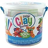 ArtSkills Kids Craft Clay Activity Bucket Over 100 Pieces