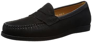 Nubuck Loafer 1331-699-6281: Black