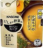 カゴメ だしまで野菜のおいしいスープ かぼちゃのポタージュ 140g×10袋