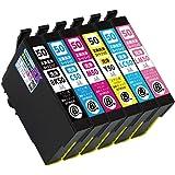 IC6CL50L(BK/C/M/Y/LC/LM) 6色セット用 洗浄カートリッジ 【プリンターの「目詰まり」「かすれ」解消】【洗浄カートリッジに入れ替えてヘッドクリーニングを行うだけ】 [エプソン] (最新型ICチップ付き) 【A.I.S製品】