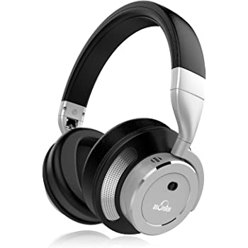 iDeaUSA Bluetoothヘッドホン ノイズキャンセリングヘッドホン ワイヤレスヘッドホン/高音質/遮音性/密閉型/オーバーヘッド/内蔵マイク/ハンズフリー通話