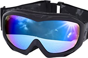 ICEPARDAL(アイスパーダル) スノーボード ゴーグル 曇り止め ダブルレンズ 簡単脱着 UVカット 99% 日本企画品 全10色 IBP-782
