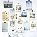 TNYKER ポストカード 絵はがき 丸シール付き 飾る インテリア 壁飾り おしゃれ 風景 アートポスター 30枚セット
