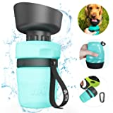 petnf Dog Water Bottle Reversible & Lightweight Dog Water Dispenser,Expandable Food Grade Silicone Portable Pet Water Bottle