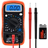 WeePro Vpro850L Digital Multimeter DC AC Voltmeter, Ohm Volt Amp Test Meter, Electric Tester Ohmmeter with Diode and Continui