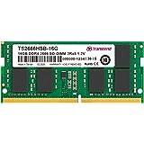 Transcend ノートPC用メモリ PC4-21300(DDR4-2666) 16GB 1.2V 260pin SO…