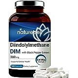 DIM Plus as Diindolylmethane, 300mg, 120 Capsules, with Black Pepper, Enhanced for Estrogen Balance, Menopause Relief, Body B