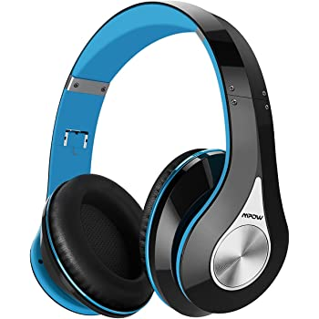 Mpow 密閉型 Bluetooth ヘッドホン 高音質 20時間再生 折りたたみ式 ケーブル着脱式 バランス接続対応 リモコン ・ マイク付き ハンズフリー通話可能