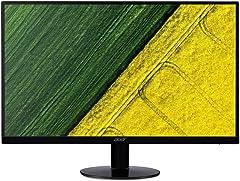 Acer SA0 SA270A 27-Inch FHD IPS Ultra-Thin Zero Frame Display Monitor, AMD Free Sync, 75Hz Refresh Rate, Black