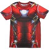 Mighty Fine Marvel Comics Captain America Civil War I Am Iron Man Men's Costume T-Shirt