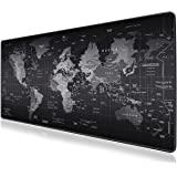 Mouse Pad, JRINTL Extended Gaming Mouse Pad Large Size 800x300mm Ergonomic Multipurpose Comfortable Anti-Fray Stitched Edges