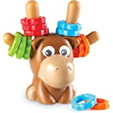 Learning Resources Max The Fine Motor Moose, Fine Motor Toy for Toddlers, Ages 2months +, Multi