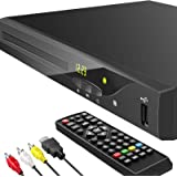 Blu Ray DVD Player, Geoyeao 1080P Home Theater Disc System, Play All DVDs and Region A 1 Blu-rays, Support Max 128G USB Flash