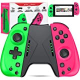 ESYWEN Joy Pad Controller Compatible with Nintendo Switch, Replacement for Switch joycon, Switch Controller Joypad with Macro