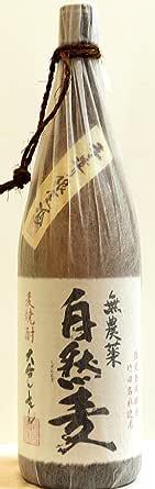 自然麦 麦焼酎 瓶 25度 1800ml  [大分県]