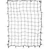 ABN Cargo Net with Nylon Hooks, 72 x 96in for Trailers, Pickup Trucks, Rooftops, & More – Heavy-Duty, Multi-Purpose