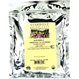 "Starwest Botanicals Organic Ginger Root 1/4"" Cut and Sifted, 1 Pound"