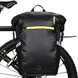Huntvp 24L Bike Pannier Bag Backpack Multifunctional Bicycle Bag Cycling Bicycle Rear Seat Trunk Pack Bag Bike Saddle Bag Bac