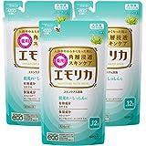 【まとめ買い】 エモリカ 薬用 スキンケア 入浴剤 ハーブの香り つめかえ用 360ml×3個 [医薬部外品] (赤ちゃん にも使えます)