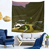 Top Rapper Tra-Viss=Cot Album Jackboys Cover Soft, Comfortable And Durable Tapestry Fabric Good Indoor Wall Decoration (59x59