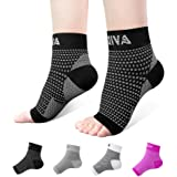Ankle Brace for Men Women Pair AVIDDA Plantar Fasciitis Socks with Arch Support Compression Ankle Support Foot Sleeve for Ach