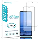 HPTech Screen Protector for Huawei P30 Lite - (2-Pack) Tempered Glass Film for Huawei P30 Lite Easy to Install, Bubble Free,
