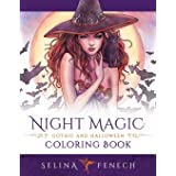 Night Magic - Gothic and Halloween Coloring Book: 10