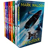 Mark Walden Higher Institute of Villainous Education 8 Books Collection Set (H.I.V.E., The Overlord Protocol, Escape Velocity