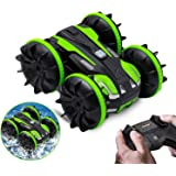 CMST Land Water 2 in 1 RC Cars Toy Amphibious Remote Control Car Boat for Kids Gifts for 4-12 Year Old Boys and Adults 2.4 GH