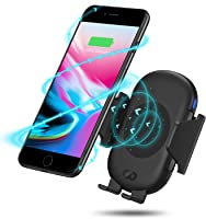 Antank Wireless Car Charger Mount, Automatic Car Air Vent Phone Holder Qi Wireless Fast Charger for Samsung Galaxy S9 Plus/S9/S8 Plus/ S8 /S7edge/S7/Note 8/Note 5 and Standard Charging for iPhone X/8 Plus/8