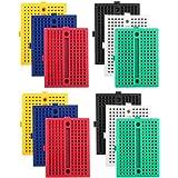 【12個入り】Arduino用170タイポイント ブレッドボード カラフルブレッドボード ミニブレッドボード