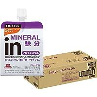 inゼリー マルチミネラル グレープ味 (180g×36個) 栄養補助ゼリー 10秒チャージ 5種類のミネラル配合 栄養…