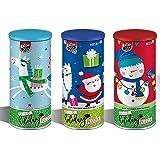Christmas Jigsaw Puzzle Set - Three Holiday 24 -Piece Puzzles - Santa, Polar Bear, Penguin and Snowman Jigsaw Puzzles - Best