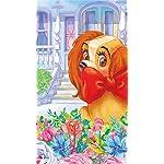 ディズニー iPhone SE/8/7/6s(750×1334)壁紙 アメリカン・コッカー・スパニエルのレディ