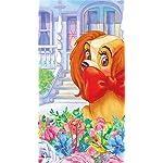 ディズニー iPhoneSE/5s/5c/5 壁紙 視差効果 アメリカン・コッカー・スパニエルのレディ