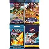 Star Realms Expansions Bundle: Gambit, Cosmic Gambit, Scenarios, Promo Pack 1