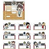 ハイキュー!! トレーディングジオラマ風アクリルスタンド Ver.B BOX商品 1BOX=10個入り、全10種類