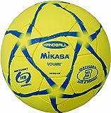 ミカサ(MIKASA) ハンドボール 屋外用練習球3号 (男子用 一般/大学/高校) HP303-YB黄3号球