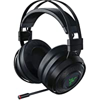 Razer Nari Ultimate ゲーミングヘッドセット 振動フィードバック THX360度立体音響 無線/有線…