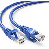 CAT6 Ethernet Cable 3ft (5 Pack), CableCreation Internet Network LAN Cords 1 Gigabit UTP Patch Cable, 23 AWG High Speed RJ45