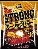 湖池屋 KOIKEYA STRONGポテトチップスガーリックバター 56g ×12袋