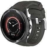 XIHAMA For Suunto 9シリーズ バンド スント 腕時計ベルト Suunto 9 Watch 交換用ストラップ 交換簡単 (灰)