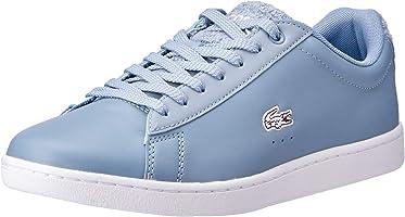Lacoste Carnaby EVO 119 1 Fashion Shoes, LT BLU/WHT
