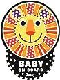 Sassy ベビーオンボードステッカー ライオン 【ドライブ】 NZSA100703