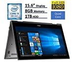 2018 Dell Inspiron 15 5000 Flagship 15.6 inch Full HD IPS Touchscreen 2-in-1 Laptop PC, Intel Core i5-8250U Quad-Core...