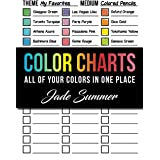Color Charts: 50+ Coloring Charts to Organize Your Color Schemes, Test Your Supplies, and Find the Perfect Colors for Every P