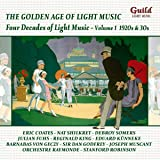 Four Decades of Light Music 1: 1920s & 1930s / Various