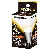 パナソニック EVERLEDS LED電球(調光器対応・E17口金・小形電球形・電球25W相当・370ルーメン・電球色相当)LDA6LE17D