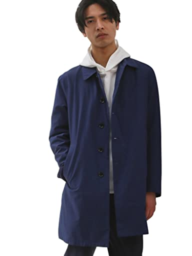 Pocketable Nylon Balmacaan Coat 3225-139-2296: Royal